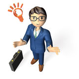 Reliable business man Stock Images
