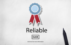 Reliable Commitment Consistency Dependable Concept Royalty Free Stock Images