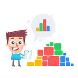 Reliable data Royalty Free Stock Images