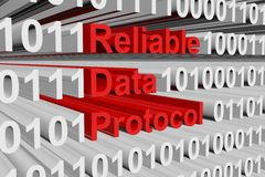 Reliable Data Protocol Royalty Free Stock Images