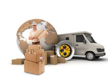 Reliable delivery Royalty Free Stock Photos