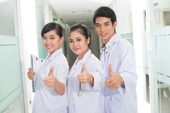 Reliable doctors Royalty Free Stock Photo