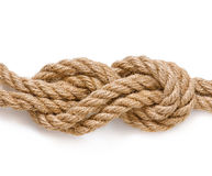 Reliable knot. Isolated on white background Stock Photography