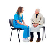 Reliable nursing home services Royalty Free Stock Image