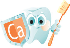 Reliable protection for a teeth Royalty Free Stock Photography