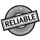 Reliable rubber stamp Stock Image