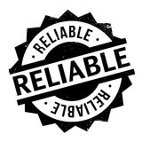 Reliable rubber stamp Stock Photography