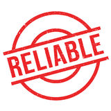 Reliable rubber stamp Royalty Free Stock Image