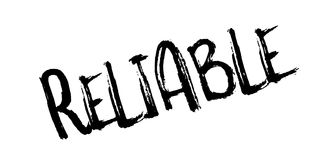 Reliable rubber stamp Stock Images