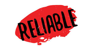 Reliable rubber stamp Royalty Free Stock Images