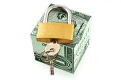 Reliable and safe storage of money Royalty Free Stock Photo