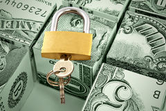 Reliable and safe storage of money Royalty Free Stock Photography
