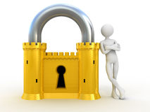 Reliable Security system Royalty Free Stock Images
