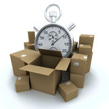 Reliable shipping service Royalty Free Stock Photos