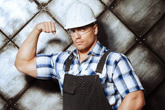 Reliable worker Stock Photo