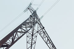 Reliance Electric transmission line Stock Images