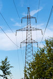 Reliance high voltage power line Royalty Free Stock Photos