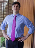 Reliant Manager. A portrait of mid-adult executive outside Royalty Free Stock Photo