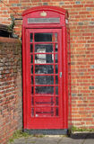 Relic of a different age?. A disused phone box still stands in a corner of an English village, Titchfield in Hampshire Stock Images