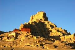 Relics of an Ancient Tibetan Castle Royalty Free Stock Photos