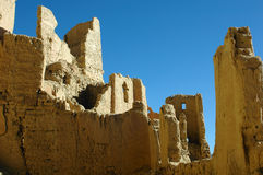 Relics of an Ancient Tibetan Castle Stock Photography