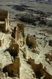 Relics of an Ancient Tibetan Castle Stock Image