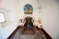 The relics of Saint George in Pomorie in Bulgaria Royalty Free Stock Photos