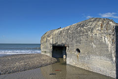 Relict of the atlantic wall Royalty Free Stock Image