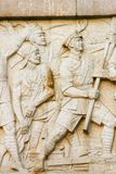 Relief. The relief of The August 1st. uprising cenotaph nanchang china Royalty Free Stock Images
