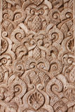 Relief. Beautiful relief in one of the Alhambra walls in Granada, Spain stock photos