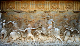 Relief at the Alhambra Stock Photos