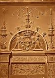 Relief, Blois castle Stock Photo