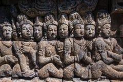 Relief of borobudur 2 Stock Images