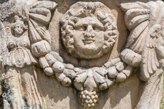 Relief detail of a tomb in Aphrodisias, Aydin Stock Photography