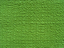 Relief green fabric texture (canvas) Stock Images