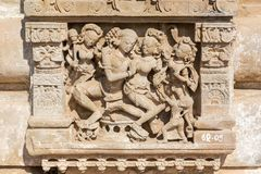 Relief on Harshat Mata Temple, Abhaneri, Rajasthan