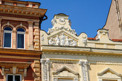 Relief at 46 Hlavna main street in Kosice Stock Image