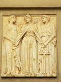 Relief of Justice, Virtue and Concord Royalty Free Stock Images