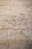 Relief in Karnak, Egypt Stock Photo