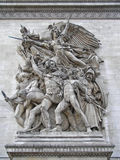 Relief of La Marseillaise Royalty Free Stock Images