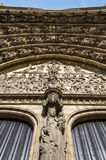 Relief of Last judgment on the main portal on the cathedral of O Royalty Free Stock Photos