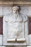 Relief at the Loggia dei Lanzi, Florence, Italy Royalty Free Stock Photo