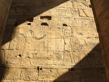 Relief in Luxor Temple Royalty Free Stock Photography