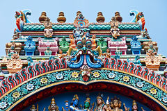 Relief of Menakshi Temple Royalty Free Stock Photo
