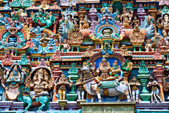 Relief of Menakshi Temple Stock Image