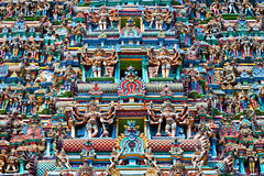 Relief of Menakshi Temple Stock Photography