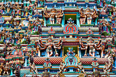 Relief of Menakshi Temple Royalty Free Stock Image