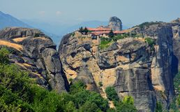 Relief Meteora Royalty Free Stock Photography