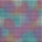 Relief mosaic tile with gradient pattern. Stock Images