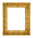 Rich gold ornamental frame Stock Photos